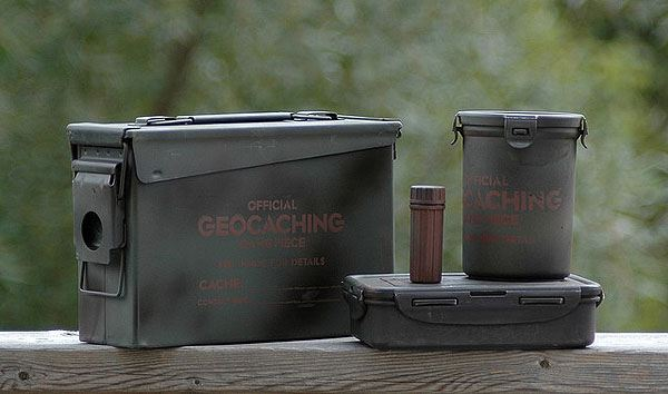Geocaching Containers