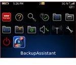 blackberry backup assistant