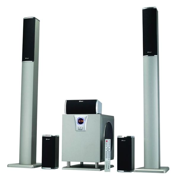 A typical 5.1 surround sound system