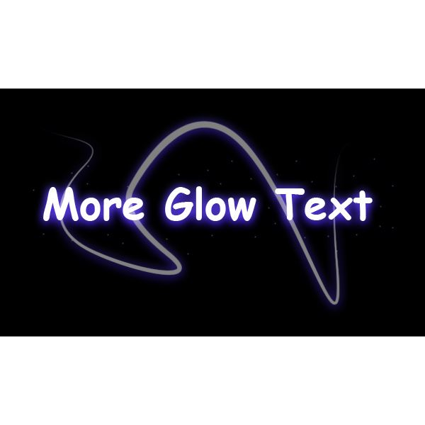 Decorators can be added to provide additional glow to the image.