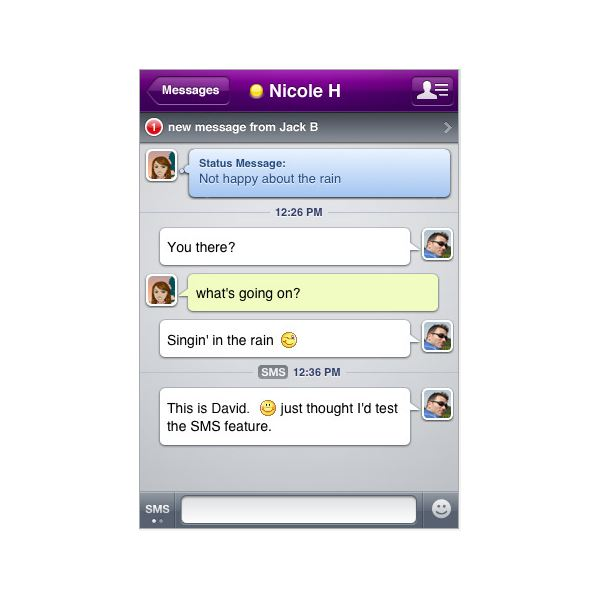 Instant Messaging And Texting : The best free iphone text and instant messenger apps
