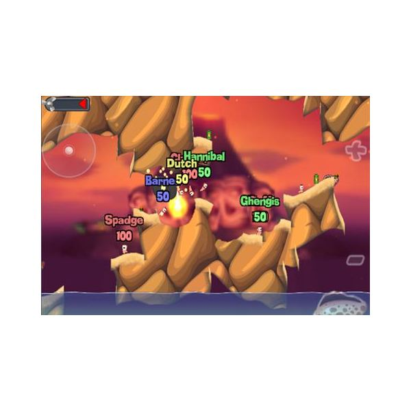 Multiplayer options in Worms
