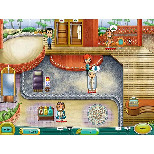 Spa Mania 2 Game Hints and Tips