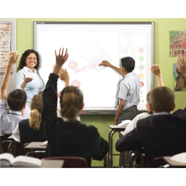 Learn how to use a SMART board in the classroom