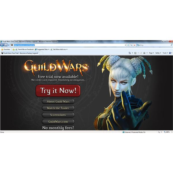 Guild Wars Free Trial