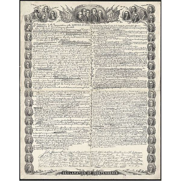Declaration of Independence (Draft) (USA)