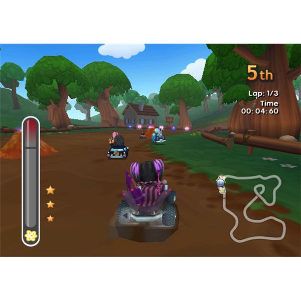 Let the kids take a drive with My Sims Racing