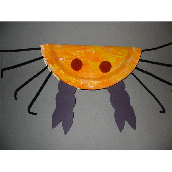 Three Preschool Crab Crafts for Learning About Ocean Life