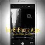 Top 8 iPhone Photo Apps
