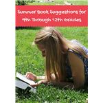 Summer Book Suggestions for 9th Through