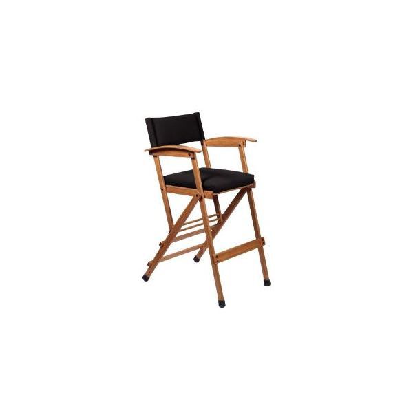 Hollywood Chairs by Totally Bamboo 32-Inch Tall Elm Director Chair
