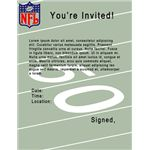 full page football invite