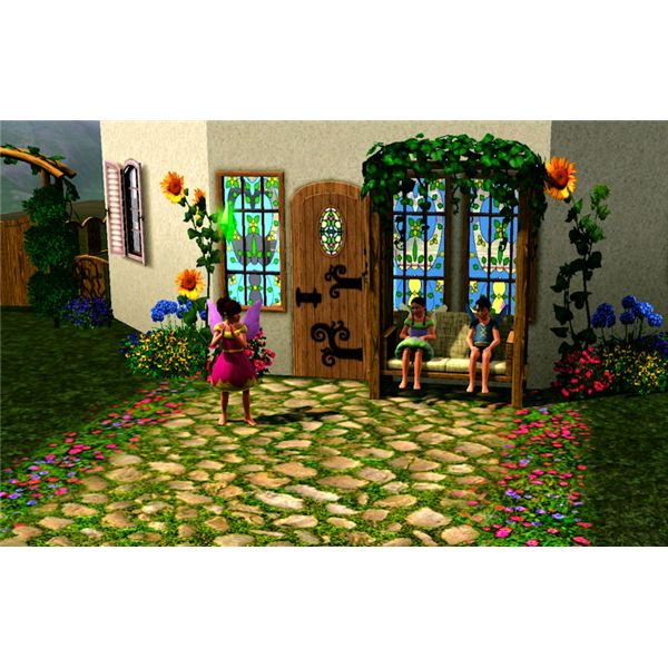 The Sims 3 fairy children
