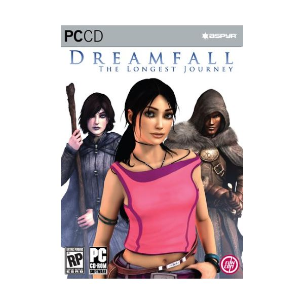 Dreamfall: The Longest Journey Boxshot April Ryan