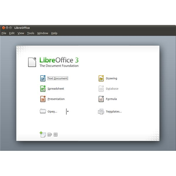 LibreOffice is the office solution of choice in Ubuntu 11.04