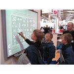 Teaching Technology for ESL classrooms: Interactive whiteboard at CeBIT 2007