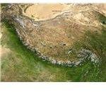 Nasa picture of Himalayan mountain range