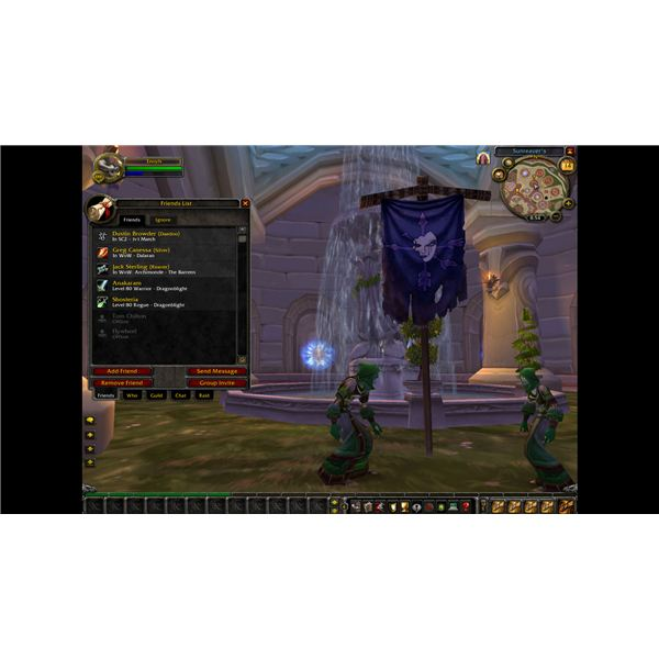 Prototype of Real ID Friends List in World of Warcraft