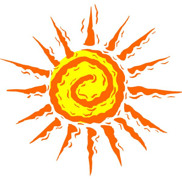 swirl sun