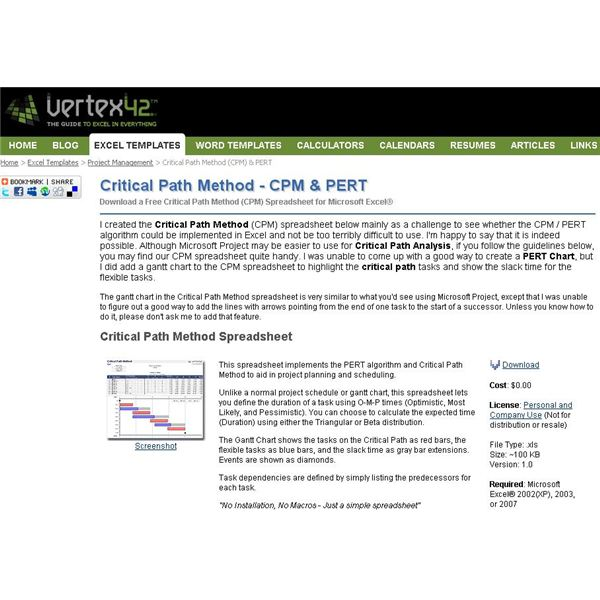 ... Critical Path Analysis Tools Excel Will Use To Guide You CPM01
