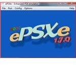 ePSXe Main screen when running