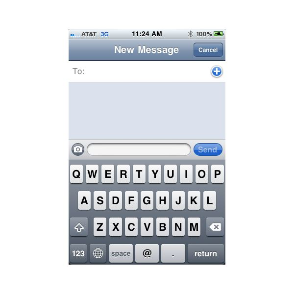 new iphone text messages iphone messaging guide how to send text picture e mail 5094