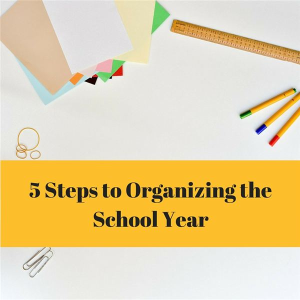 School Year Organization Tips