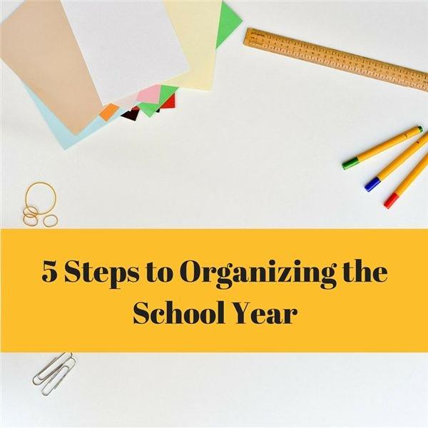 School Year Organization Tips