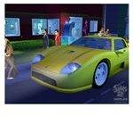 The Sims 2 Nightlife Car