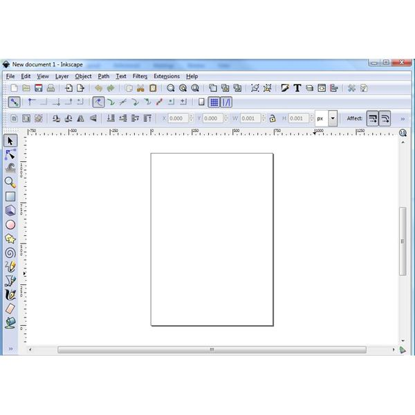 New Document with Toolbars