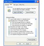 Windows - Folder Options