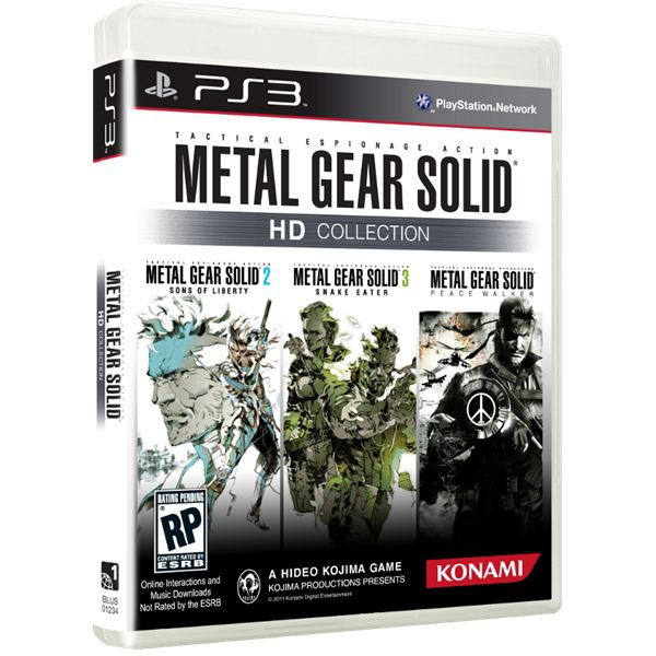 Metal Gear Solid HD Collection Hitting Stores in November