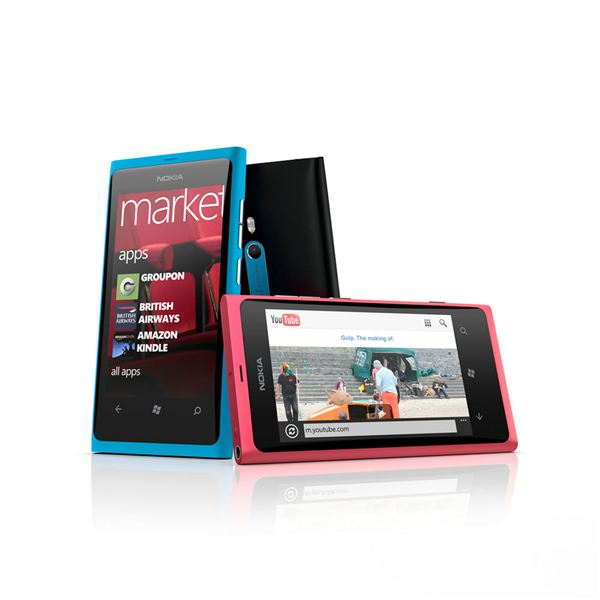 The Nokia Lumia 800 Windows Phone