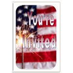 Patriotic Invitation Template