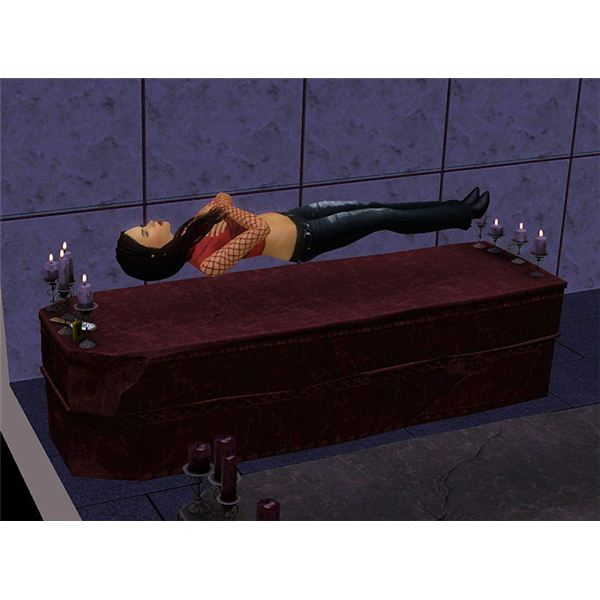 The Sims 3 Vampire Sleeping