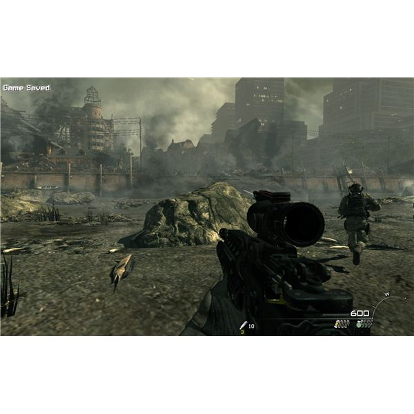 CoD: MW3 Walkthrough - Goalpost