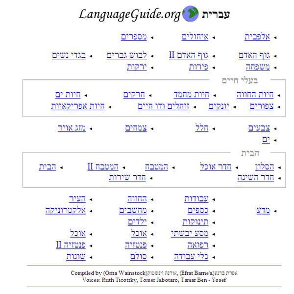 A Great Resource for Learning Hebrew: A Review of the Hebrew Vocabulary Guide