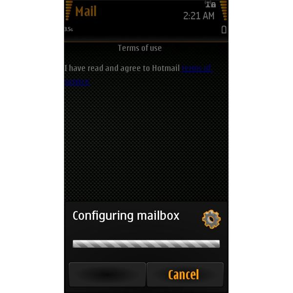 Nokia N8 Email: Configuring Email Settings
