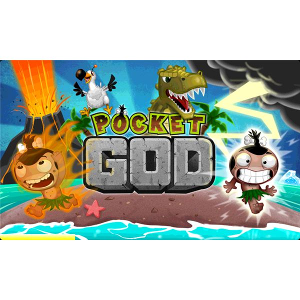 Pocket God Title Screen