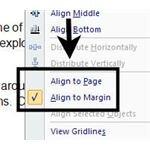 Align to Margin