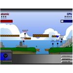 Simple Worms style browser based war game action