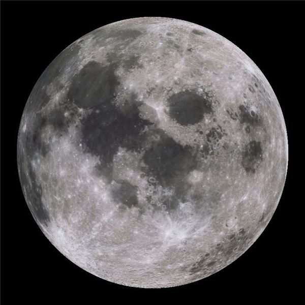 The moon - photo courtesy of the National Oceanic and Atmospheric Administration