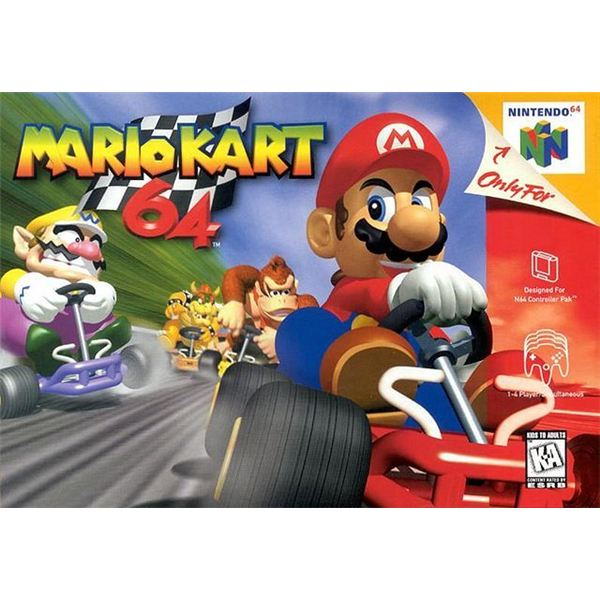 Mario Kart 64 Virtual Console Review - Fans of Multiplayer Games Should Download Mario Kart 64 Without Delay