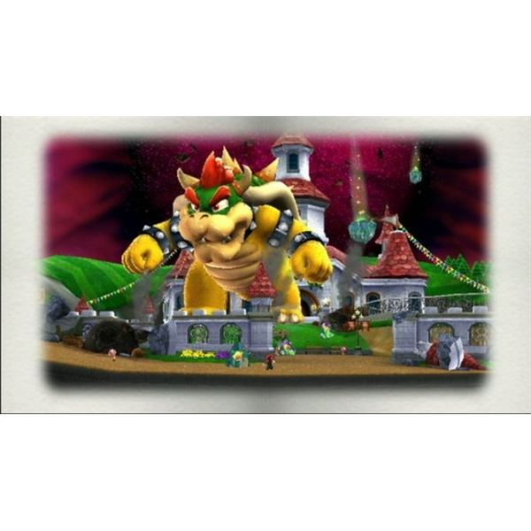 Mario Must Once Again Thwart Bowser's Plans