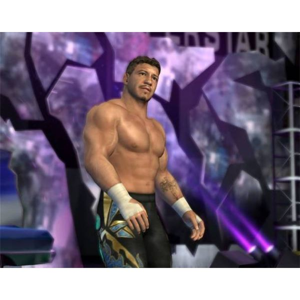 Superstar models were some of the best seen in a wrestling game at the time.