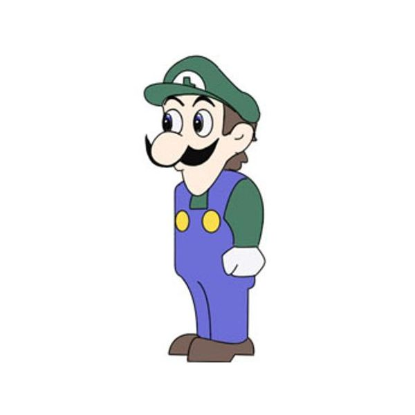 Weegee, Mario's younger, creepier brother.