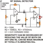 Non Contact AC Mains Voltage Sensor, Circuit Diagram, Image