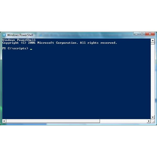 windows 7 powershell