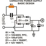 Transformerless Power Supply, Basic Circuit Design, Image