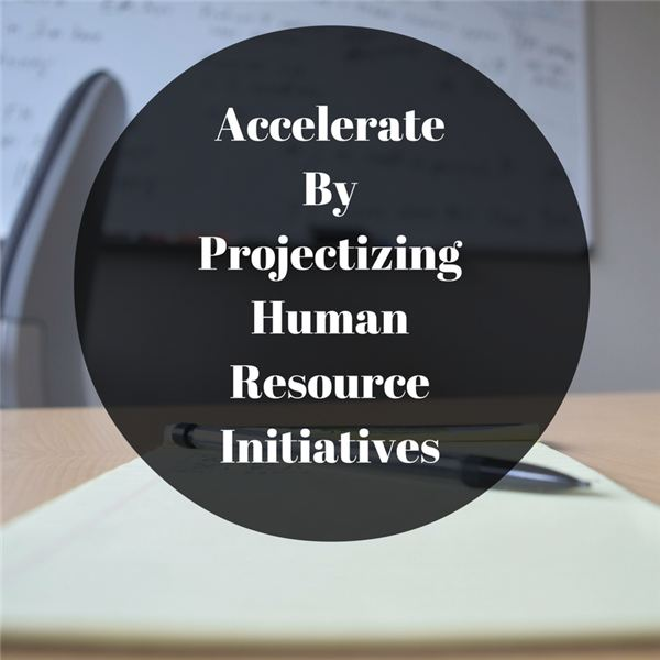 Implementing a Projectized Human Resources Structure